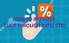 How To Improve Your Click Through Rate (CTR) Inside Of Google  What is a click-through rate