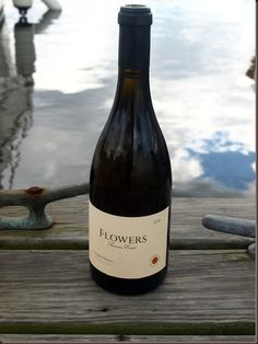Flowers Sonoma Coast Chardonnay - love this wine, especially when consumed at sea :)