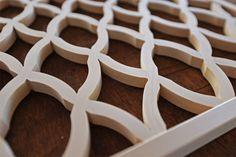 Bundo-wa-tsunagi Kumiko Japanese lattice