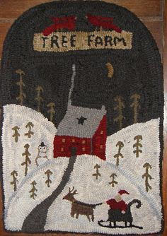 Tree Farm... I might hook this sometime as my sig. other's family used to have a tree farm.