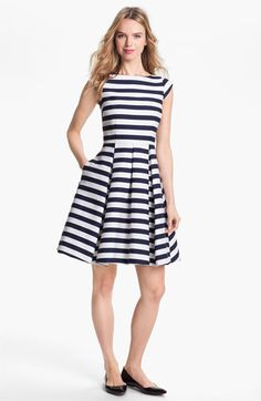Kate Spade New York 'Mariella' cotton blend, fit & flare dress available at Nordstrom