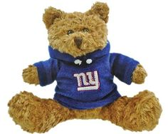 NFL New York Giants Hoodie Bear by Champion. $15.99. Champion Treasures NFL New York Giants Hoodie Bear. Save 20% Off!