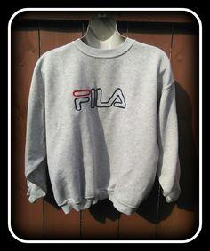 292a93b96e0a Vintage Mens Fila Sweatshirt-XXL