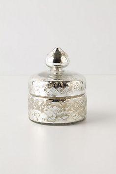 mercury glass trinket