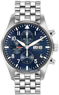 iw377717 Le Petit Prince IWC Pilot's Watch Chronograph Mens Watch