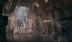 Fantasy Palace Throne Room