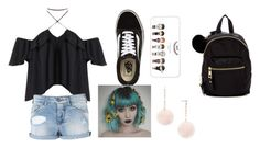 """""""Untitled #288"""" by thecatsmeow21 ❤ liked on Polyvore featuring Armani Jeans, Vans, Madden Girl and Forever 21"""