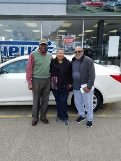 Garfield Bohanna and the rest of the Turnpike Family wish to thank the Haleys for their business 😉👍