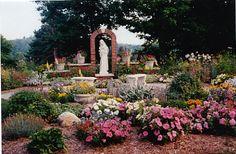 John The Baptist Parish Mary Garden