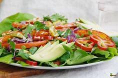 Bunter Kürbissalat Cobb Salad, Food, Meal, Essen, Hoods, Meals, Eten
