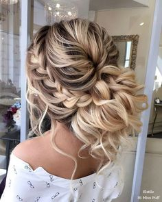 Wedding Hairstyles : 100 Wow-Worthy Long Wedding Hairstyles from Elstile | Hi Miss Puff  Part 29