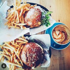 Burgers & Fries craving is real!!  Make it a double mmm  Only burgers at…