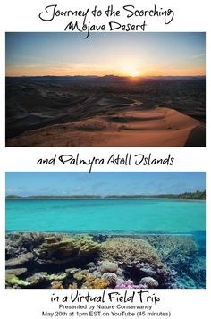 Take a virtual journey to the scorching Mojave Desert and Palmyra Atoll cluster of Islands to learn about renewable energy with the Nature Conservancy @nature_org & WeAreTeachers.  The field trip is designed for grades 3-8, but all viewers are welcome! The content is aligned with Next Generation Science Standards. Accompanying renewable energy lesson plan included. Sponsored