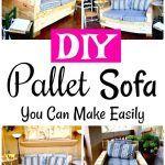 DIY Wooden Pallet Sofa Set