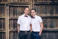 This handsome couple from the UK reminds us why we love photographing weddings so much. Like most couples they preferred casual shots. Gay wedding in Sitges
