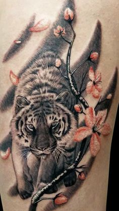 IllustrationGalleryConcept By JAW Cooper Tiger Tattoos And