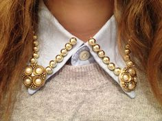 DIY Fashion Collar ideas  - check out my other pins are guest pinner for @FaveCrafts this month