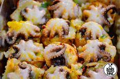 EATS: Tako House and their Baby Octopus Takoyaki Japanese Street Food, Japanese Food, Baby Octopus, Takoyaki, Different Recipes, Restaurant, Snacks, House, Wellness