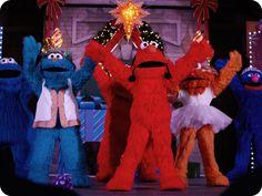 Elmo's Christmas Wish Show at Sesame Place!