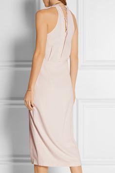 Dion Lee | Wrap-effect crepe dress | NET-A-PORTER.COM