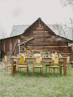 farm reception at Moon-Randolph Homestead