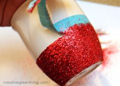 Creative Green Living: How to Make Dishwasher Safe Glitter Mugs