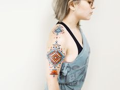 Brian Gomes: Tattoos Inspired by Amazonian Tribes. http://illusion.scene360.com/art/103648/brian-gomes/