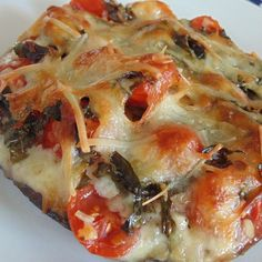 "Gluten-Free Portobello Pizza I ""Delicious, quick and easy recipe! I made it four nights in a row!!"""