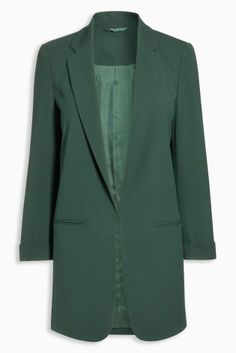 Buy Green Edge To Edge Twill Jacket from the Next UK online shop