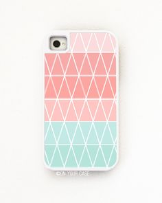 iPhone 4 Case Tough Case Geometric Cupcake by onyourcasestore, $34.99