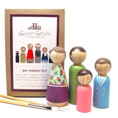 Family Peg Doll DIY Kit