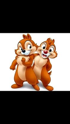 Chip and Dale! So cute!