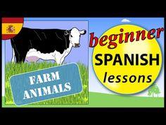 Animals in Spanish - YouTube
