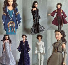 Padme Amidala Star Wars Outfits for Barbie