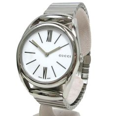 Gucci Watches - Shop designer fashion at Tradesy and save 70% off or more on fashion accessories. Gucci Watches For Men, Gucci Horsebit, Stainless Steel Material, Gucci Accessories, Vintage Gucci, Omega Watch, Bracelet Watch, Quartz, Belt