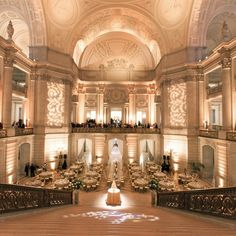 San Francisco City Hall Reception | Josh Gruetzmacher | Theknot.com