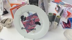 College, Plates, Tableware, Licence Plates, University, Dishes, Dinnerware, Griddles, Tablewares