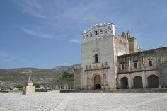 Templo y Ex Convento de los Santos Reyes, Metztitlán  - www.hidalgo.travel -