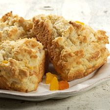 gluten free scones from the King Arthur Flour website.  They have several GF recipes to try.
