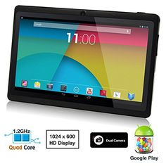 """If you've entered our ongoing giveaway of Dragon Touch Y88X, you may be interested in reading this thorough review at the tech blog Techwarn.com. The reviewer listed five pros and two cons. One of the two cons is """"not waterproof""""; hmm, indeed, we did not design this tablet with waterproof in mind."""