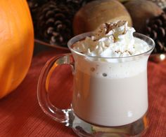 Pumpkin Spice Latte, slow cooker style  Ingredients:  2 cups milk  2 Tbsp. canned pumpkin  2 Tbsp. sugar  2 Tbsp. vanilla extract  1/2 tsp. pumpkin pie spice  1/2 cup brewed espresso or 3/4 cup strongly brewed coffee    Directions:  Add the milk and espresso to the crockpot.  Stir in the pumpkin, sugar, vanilla, and spice with a whisk. Let it sit for 2 hours in the crockpot on high.  Ladle it out and top it with whipped cream (if you want).  Enjoy!    (This serves about 2 large mugs)