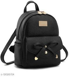 Checkout this latest Backpacks Product Name: *Ethnic Women's Black Backpacks* Sizes: Free Size (Length Size: 12 in, Width Size: 10 in)  Country of Origin: India Easy Returns Available In Case Of Any Issue   Catalog Rating: ★4 (264)  Catalog Name: Gorgeous Attractive Women Backpacks CatalogID_2292507 C73-SC1074 Code: 503-12028154-726