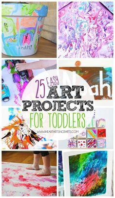 25 Easy Art Projects For Toddlers
