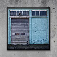 Blå vägg på www.nordicdesigncollective.se