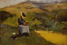 Lorenzo Delleani La pittrice, 1881