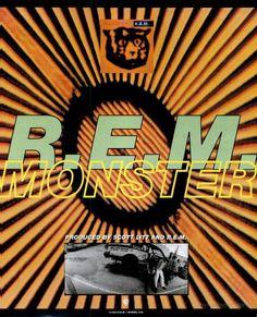 "R.E.M., ""Monster"" [1994] | 58 Vintage Ads For Alt-Rock Classics"