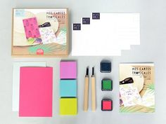 Kit MKMI - création de tampons - mes kits make it- DIY