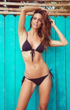 Mara Hoffman Beaded Triangle Bikini   nicdelmar.com