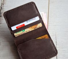 Wallets for men handmade mens leather wallet mens wallet by Handor