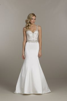 Wedding gown by Lovelle by Lazaro
